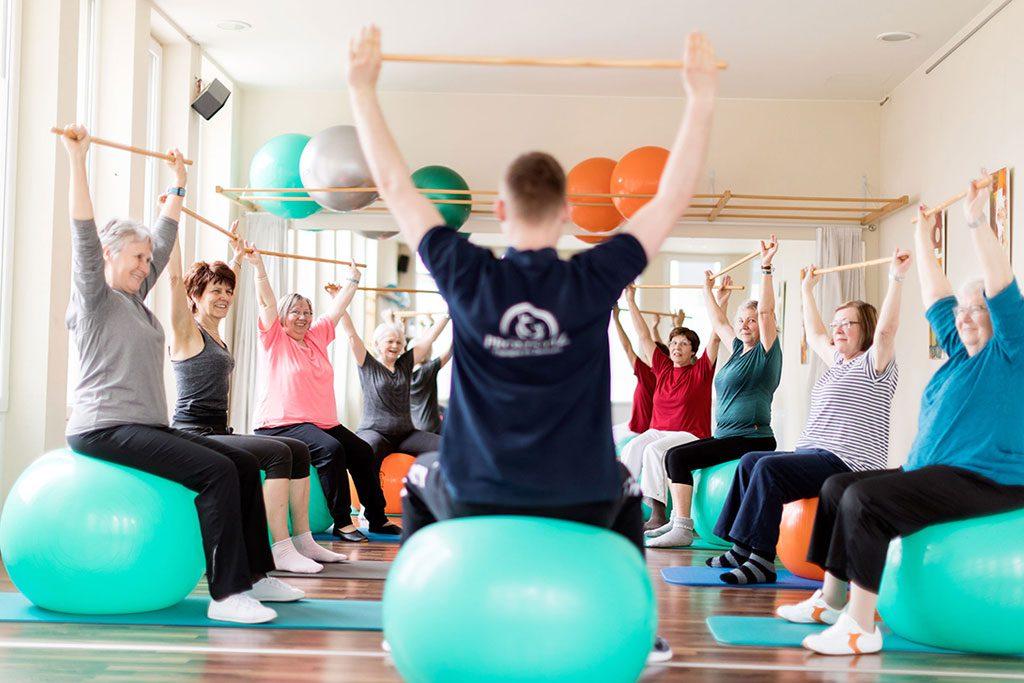 Schwerpunkt Prävention Promnitz Physiotherapie