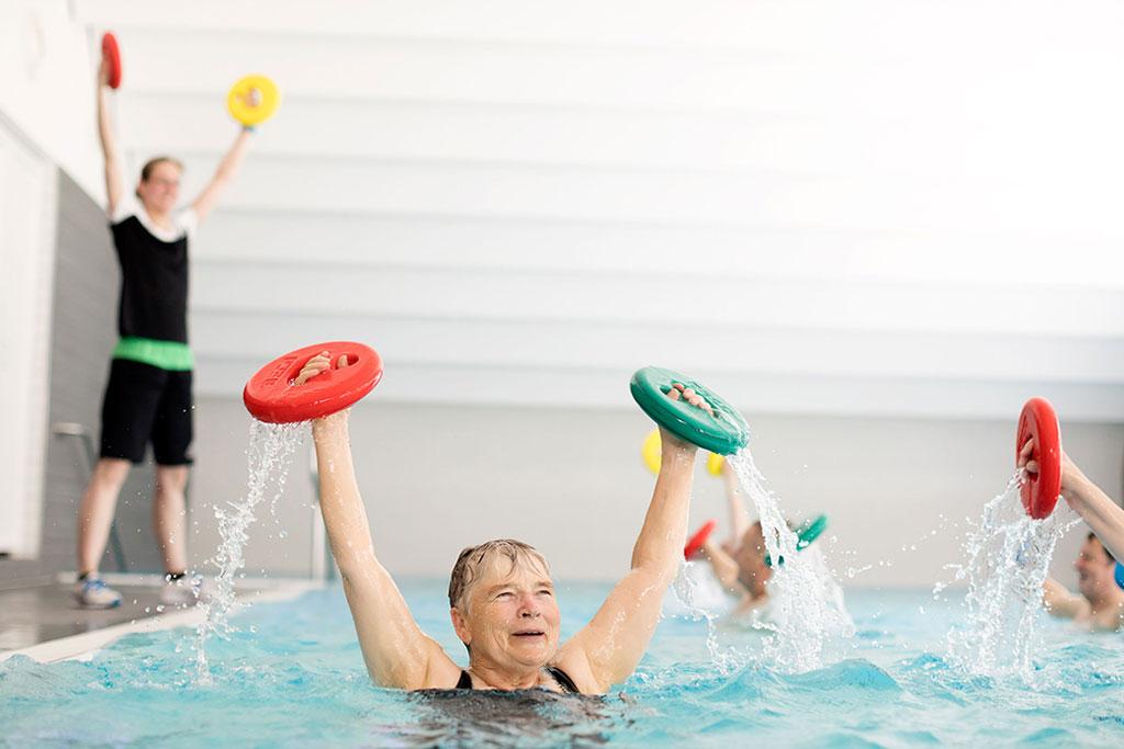 Schwerpunkt Wassergymnastik Promnitz Physiotherapie