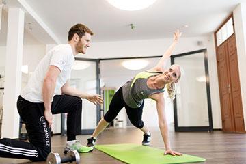 Wirbelsäulengymnastik Promnitz Physiotherapie Brandenburg Görden