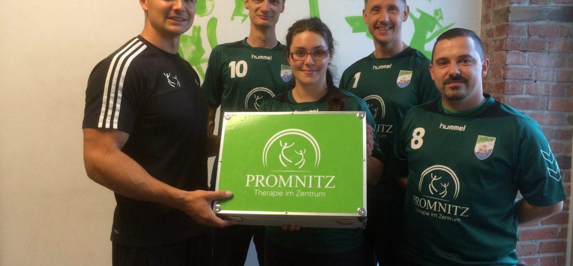 Sponsor Promnitz Physiotherapie Volleyball