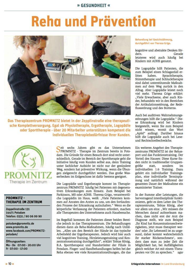 Promnitz Brandenburg Havel logopädie und ergotherapie bei promnitz promnitz therapie im zentrum