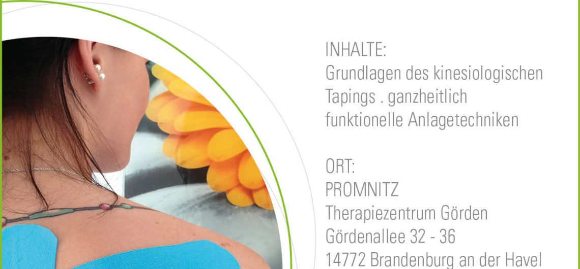 Seminar Promnitz Kinesio Tape Promnitz Physiotherapie