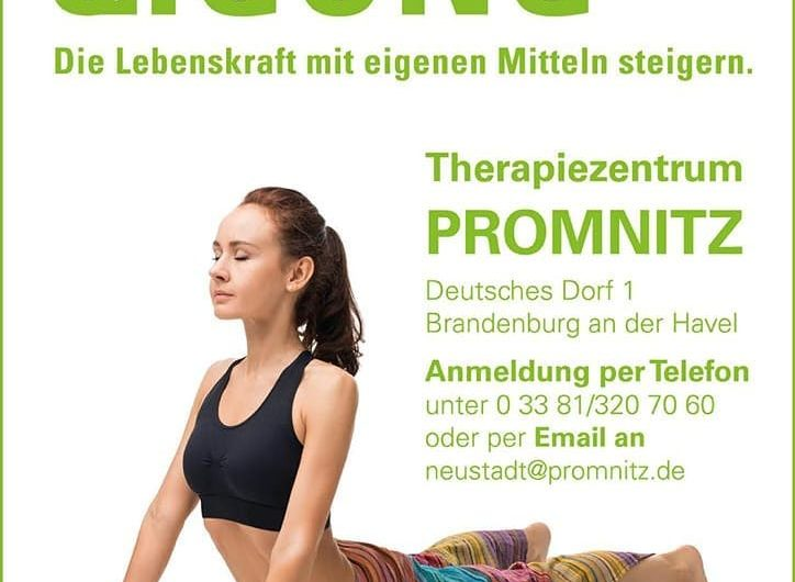 Qi Gong im Therapiezentrum PROMNITZ Promnitz Physiotherapie
